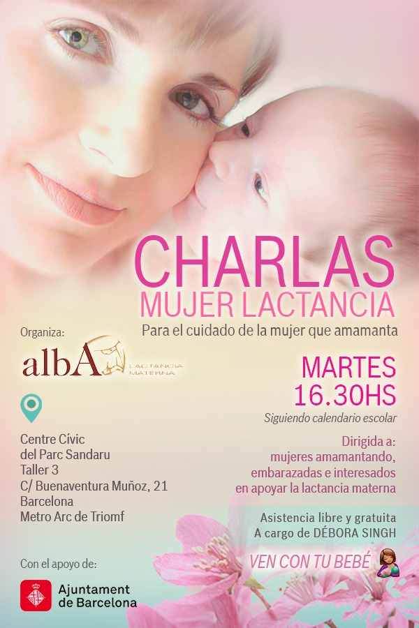 "Nuevo servicio ALBA: ""Charlas Mujer Lactancia"""