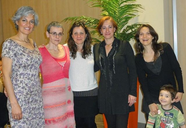 participacion de asesoras de ALBA - cena de gala