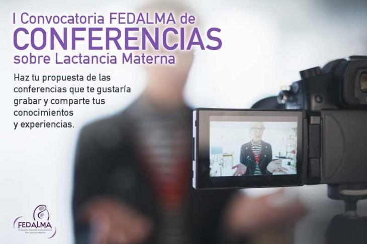 "I Convocatoria ""Conferencias Online FEDALMA"" sobre lactancia materna"