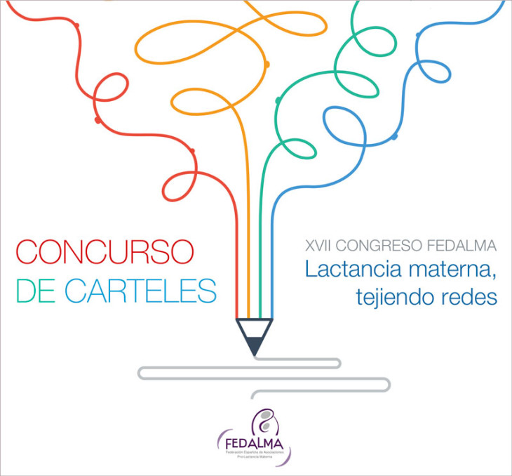"""IX Concurso de Carteles """"Congresos FEDALMA pro Lactancia Materna"""""""