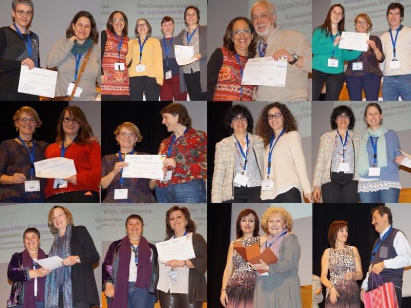 Congreso lactancia IHAN 2015 - entrega premios