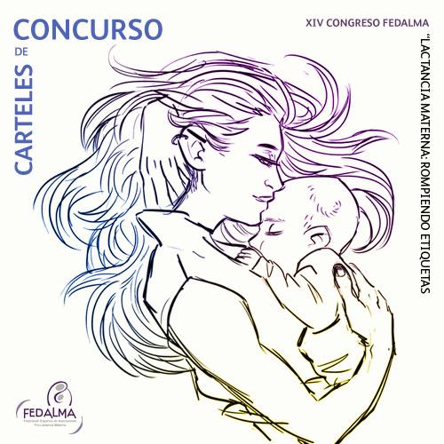 """VI Concurso de carteles """"Congresos FEDALMA pro lactancia materna"""""""
