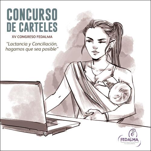 """VII Concurso de carteles """"Congresos FEDALMA pro lactancia materna"""""""