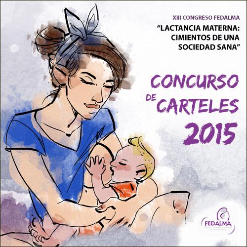 """V Concurso de carteles """"Congresos FEDALMA pro lactancia materna"""""""