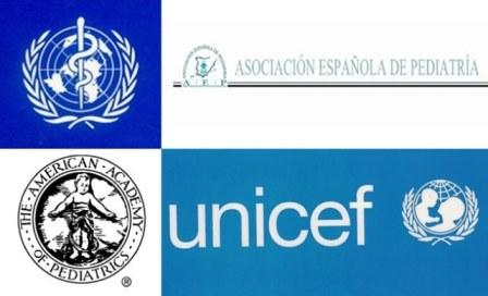 organismos nacionales e internacionales - apoyo lactancia materna