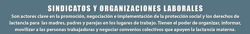 organizaciones laborales