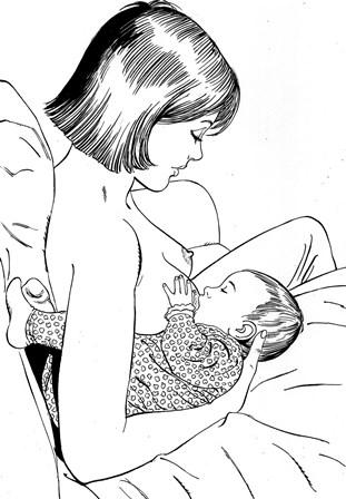 tecnicas de lactancia materna posiciones